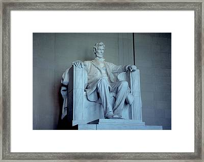 The Great Emancipator Framed Print by Carl Purcell
