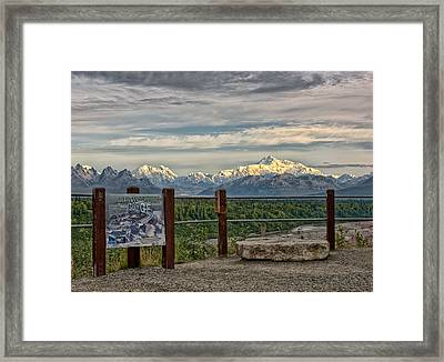 The Great Gorge Framed Print by Philip Kuntz