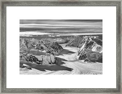 The Great Gorge Framed Print by Ray Bulson
