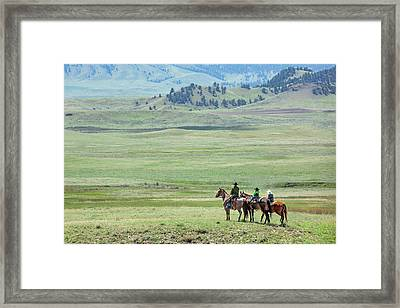 The Great Montana Expanse Framed Print by Todd Klassy