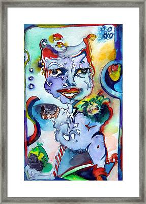 The Great Pretender Framed Print by Mindy Newman