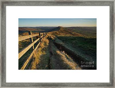 The Great Ridge Framed Print by Stephen Smith