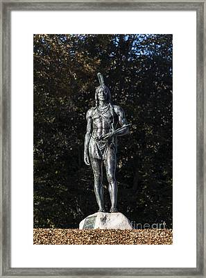 The Great Sachem Framed Print by John Greim