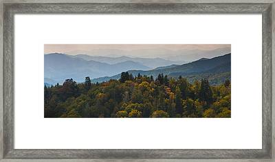 The Great Smokey Mountains Framed Print by Ryan Heffron