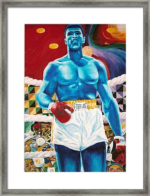 The Greatest Framed Print by Lee Ransaw