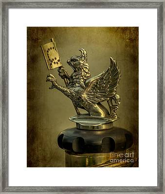 The Griffin Framed Print by Adrian Evans