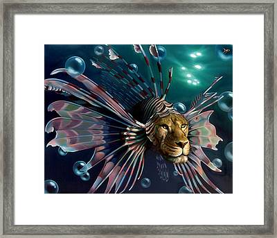 The Guardian Framed Print by Patrick Anthony Pierson