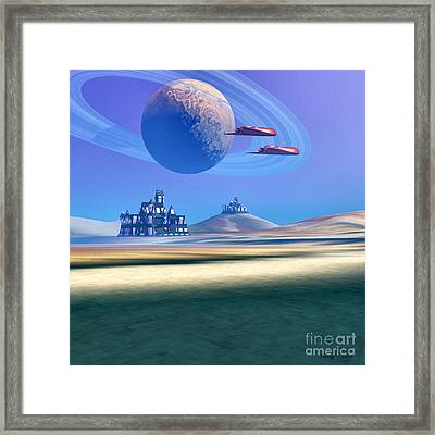 The Guardians Framed Print by Corey Ford