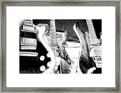 The Guitars Framed Print by David Patterson
