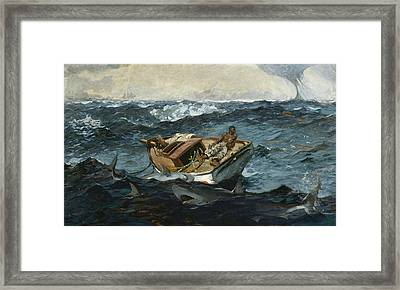 The Gulf Stream Framed Print by Winslow Homer