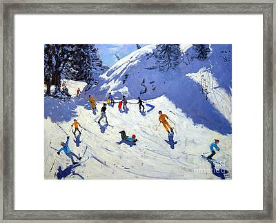 The Gully Framed Print by Andrew Macara