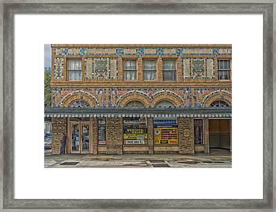 The Hamilton Hotel - Laredo Texas Framed Print by Mountain Dreams