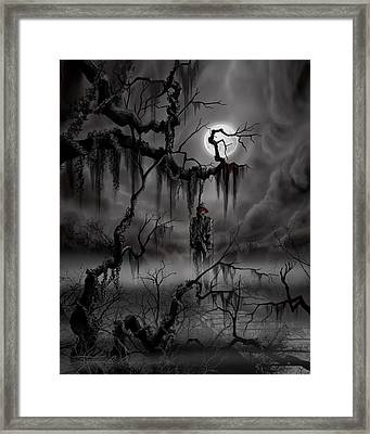The Hangman Framed Print by James Christopher Hill
