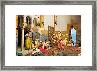 The Harem Dance Framed Print by Mountain Dreams