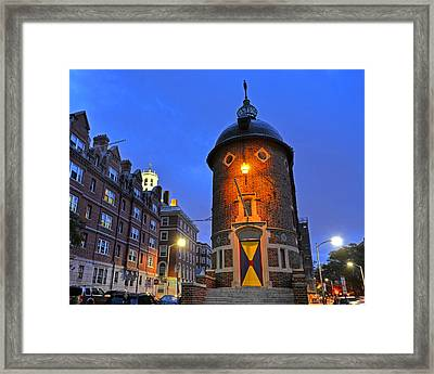 The Harvard Lampoon Harvard Square Cambridge Ma Framed Print by Toby McGuire