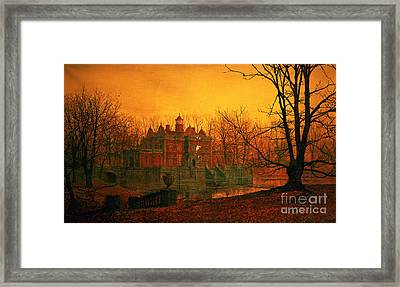 The Haunted House Framed Print by John Atkinson Grimshaw
