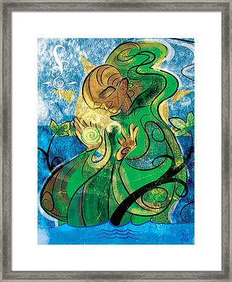 The Healer Framed Print by Jayson Green