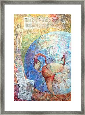 The Healer Set Me Free Framed Print by Arlissa Vaughn