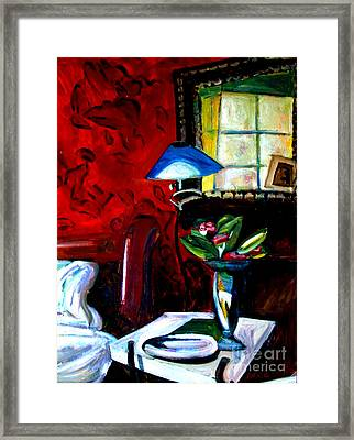 The Healing Room Framed Print by Charlie Spear