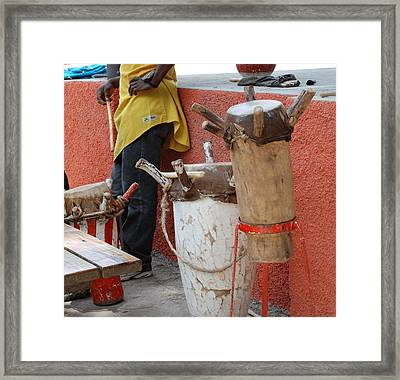 The Heartbeat Of Haiti Framed Print by David Coleman