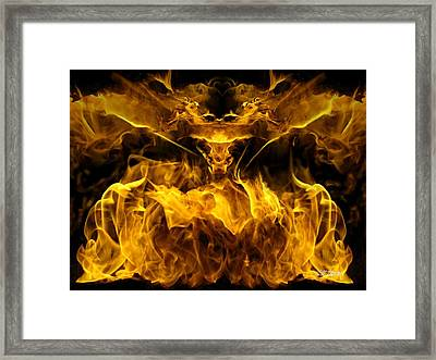 The Heat Of Passion Framed Print by Bill Stephens