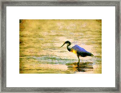 The Herons Framed Print by Odon Czintos