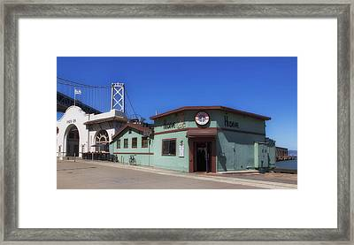 The High - Dive Bar On Pier 28 - San Francisco Framed Print by Mountain Dreams