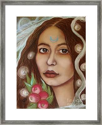 The High Priestess Framed Print by Tammy Mae Moon