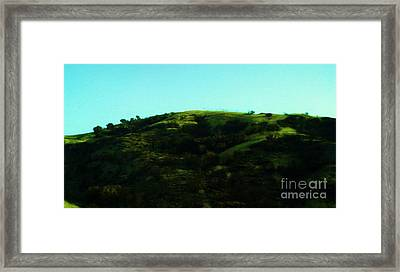 The Hills Framed Print by Jamey Balester
