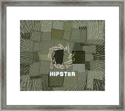 The Hipster Framed Print by Dan Sproul