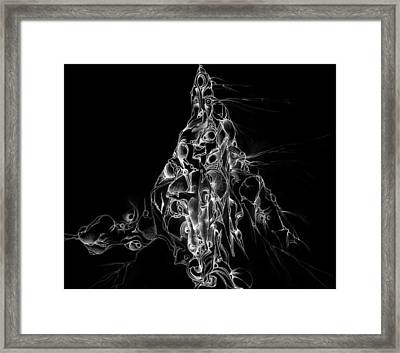 The Holy Mountain Inverted Framed Print by Bodhi