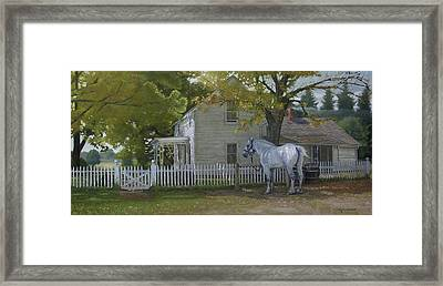 The Home Place Framed Print by Michael Wilson