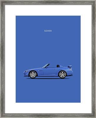 The Honda S2000 Framed Print by Mark Rogan