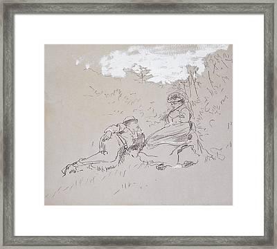 The Honeymoon Framed Print by Winslow Homer