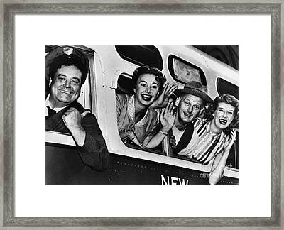 The Honeymooners, C1955 Framed Print by Granger