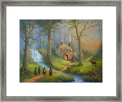 The House Of Tom Bombadil.  Framed Print by Joe  Gilronan