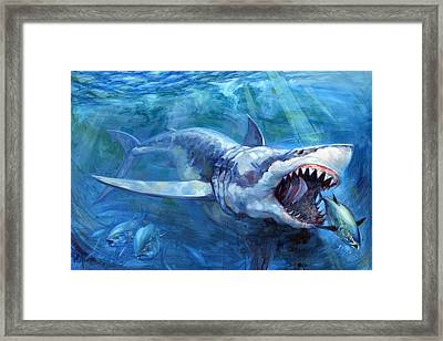 The Hunt Framed Print by Tom Dauria