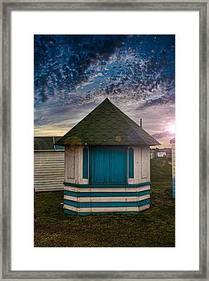 The Hut Framed Print by Martin Newman