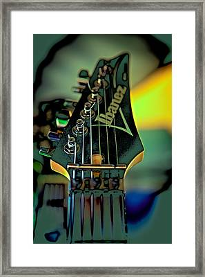 The Ibanez Framed Print by David Patterson