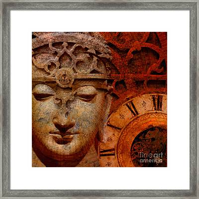 The Illusion Of Time Framed Print by Christopher Beikmann
