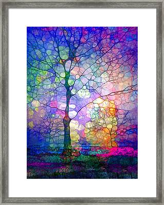 The Imagination Of Trees Framed Print by Tara Turner