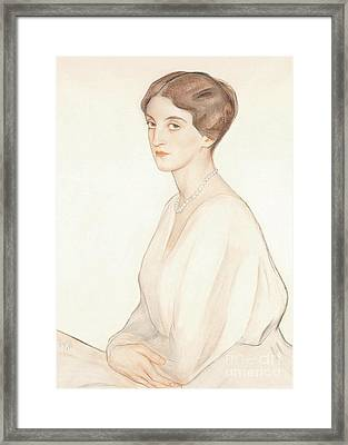 The Imperial Princess Nadezda Framed Print by MotionAge Designs