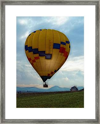 The Impressionable Balloon Framed Print by Glenn McCarthy Art and Photography