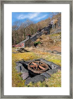 The Incline Framed Print by Adrian Evans