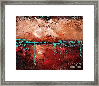 The Indian Bowl Framed Print by Frances Marino