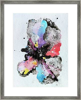 The Inexplicable Ignition Of Time Expanding Into Free Space Phase Two Number 29  Framed Print by Mark M  Mellon