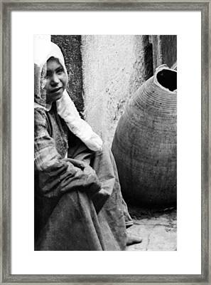 The Innocent Framed Print by Munir Alawi
