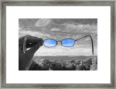 The Invisible Man 2 Framed Print by Jeff  Gettis