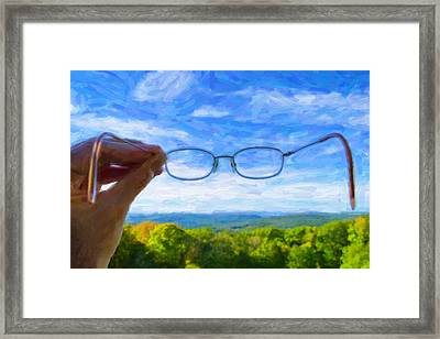 The Invisible Man Framed Print by Jeff  Gettis