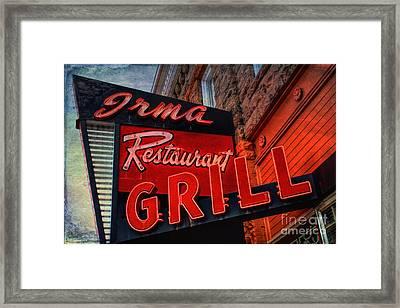 The Irma Framed Print by Lynn Sprowl